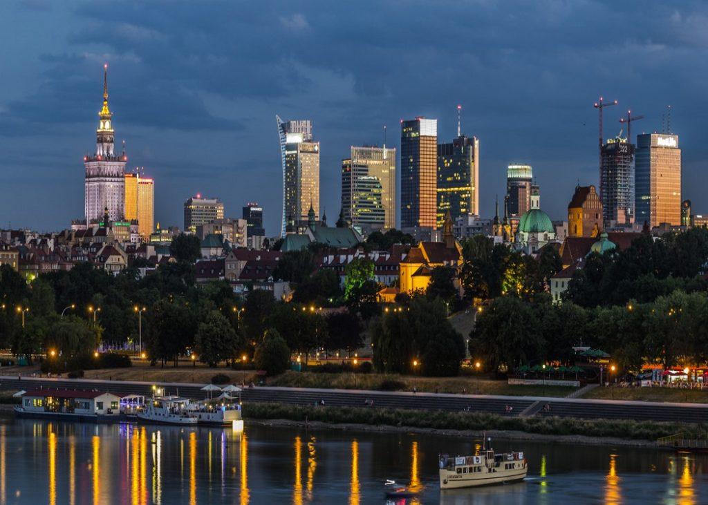 Panorama Warszawy. // Warsaw's panorama